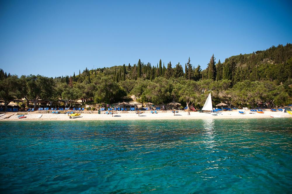Manadendri beach, Paxoi, Greece