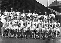 H873<br /> Aonach Tailteann Athletics - Croke Park. Hurling America v Ireland. American Hurling Team. 16/8/28. (Part of the Independent Newspapers Ireland/NLI Collection)