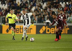 May 3, 2019 - Turin, ITA, Italy - Leonardo Spinazzola during Serie A match between Juventus v Torino, in Turin, on May 3, 2019  (Credit Image: © Loris Roselli/NurPhoto via ZUMA Press)