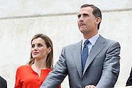 070114 Spanish Royals attends the National Innovation and Design Awards 2013