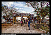 Samburu Entrance Gate<br /> Samburu National Reserve, Kenya<br /> September 2012
