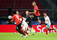 Steven Nzonzi of Stade Rennais during the UEFA Champions League, Group E football match between Stade Rennais and Sevilla FC (FC Seville) on December 8, 2020 at Roazhon Park in Rennes, France - Photo Jean Catuffe / ProSportsImages / DPPI