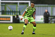 Forest Green Rovers Udoka Godwin-Malife(22) during the EFL Sky Bet League 2 match between Forest Green Rovers and Swindon Town at the New Lawn, Forest Green, United Kingdom on 21 December 2019.