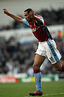 Photo: Rich Eaton.<br /> <br /> Aston Villa v West Ham. The Barclays Premiership. 03/02/2007. John Carew of Aston Villa celebrates scoring on his debut to make the score 1-0