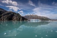 Margerine Glacier in  Glacier Bay National Park and Preserve, Alaska.