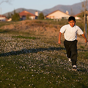 The First Tee of Monterey County opens the door to golf, as well as academic tutoring,  to many underprivileged kids of Salinas, CA, like Jose Calderon. Jose was so excited to play the course that he ran to his ball and leapt from the golf cart.