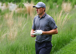 May 19, 2019 - Farmingdale, NY, U.S. - FARMINGDALE, NY - MAY 19: Jordan Spieth of the United States is pictured during the Final Round of the 2019 PGA Championship, on the Black Course, Bethpage State Park, in Farmingdale, NY. (Photo by Joshua Sarner/Icon Sportswire) (Credit Image: © Joshua Sarner/Icon SMI via ZUMA Press)