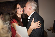 KRISTEN SOUKI; JEAN-JACQUES DUTKO;; Launch of the Dutko Gallery  the first commercial space in London dedicated to Art Deco design. 18 Davies Street , Mayfair. London. 15 October 2015