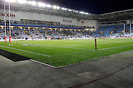 Ricoh ready for the Ladbrokes Four Nations match between England and Scotland at the Ricoh Arena, Coventry, England on 5 November 2016. Photo by Craig Galloway.
