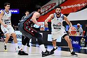 Thompson Darius <br /> A X Armani Exchange Olimpia Milano - Happy Casa Brindisi<br /> Basket Serie A LBA 2020/2021<br /> Milano 13 December 2020<br /> Foto Mattia Ozbot / Ciamillo-Castoria