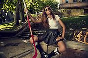 Model: LOLA GÓMEZ BREY.