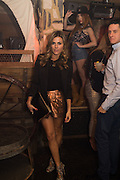 ZOE HARDMAN, The launch of Beaver Lodge in Chelsea, a cabin bar and dance saloon, 266 Fulham Rd. London. 4 December 2014