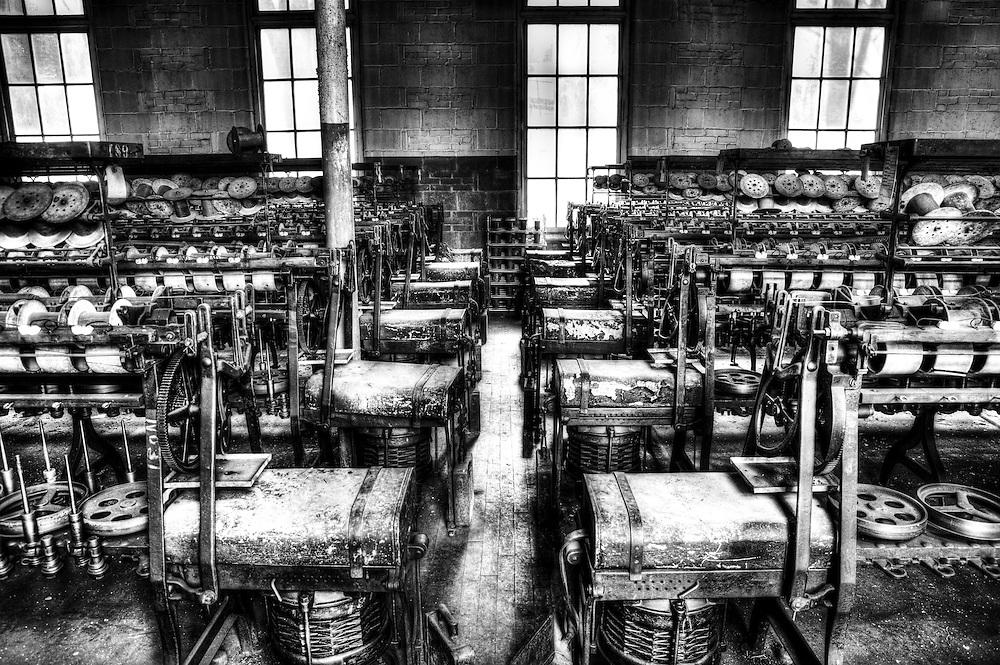 Lonaconing Silk Mill machinery