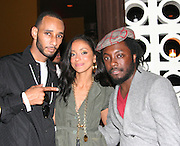 Swiss Beatzís, Mya & Will.i.am of the Black Eyed Peas. ìPreî Pre-VMA Party Hosted by Unik and Kelis .PM Lounge .New York, NY, USA.Tuesday, August 29, 2006.Photo By Selma Fonseca/ Celebrityvibe.com.To license this image call (212) 410 5354 or;.Email: celebrityvibe@gmail.com; .Website: http://www.celebrityvibe.com/. ....