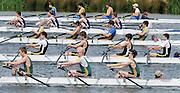 Eton,  GREAT BRITAIN. J15 4X+ at the start,  at the Eton Schools' Regatta, Eton Rowing Centre, Dorney Lake. [Finish of cancelled National Schools Regatta], Saturday, 07/06/2008  [Mandatory Credit:  Peter SPURRIER / Intersport Images] . Rowing Courses, Dorney Lake, Eton. ENGLAND