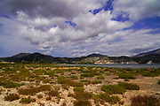Coastal wetlands on the island of Kefalonia, Greece
