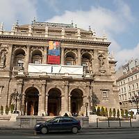 Hungarian State Opera House in Budapest, Hungary on February 21, 2009. ATTILA VOLGYI