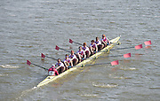 Chiswick, London, Great Britain.<br /> Westminster School, wiiners Champ eights at the 2016 Schools Head of the River Race, Reverse Championship Course Mortlake to Putney. River Thames.<br /> <br /> Thursday  17/03/2016<br /> <br /> [Mandatory Credit: Peter SPURRIER;Intersport images]