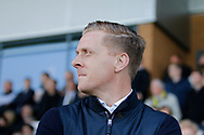 Leeds United manager Garry Monk during the EFL Sky Bet Championship match between Burton Albion and Leeds United at the Pirelli Stadium, Burton upon Trent, England on 22 April 2017. Photo by Richard Holmes.