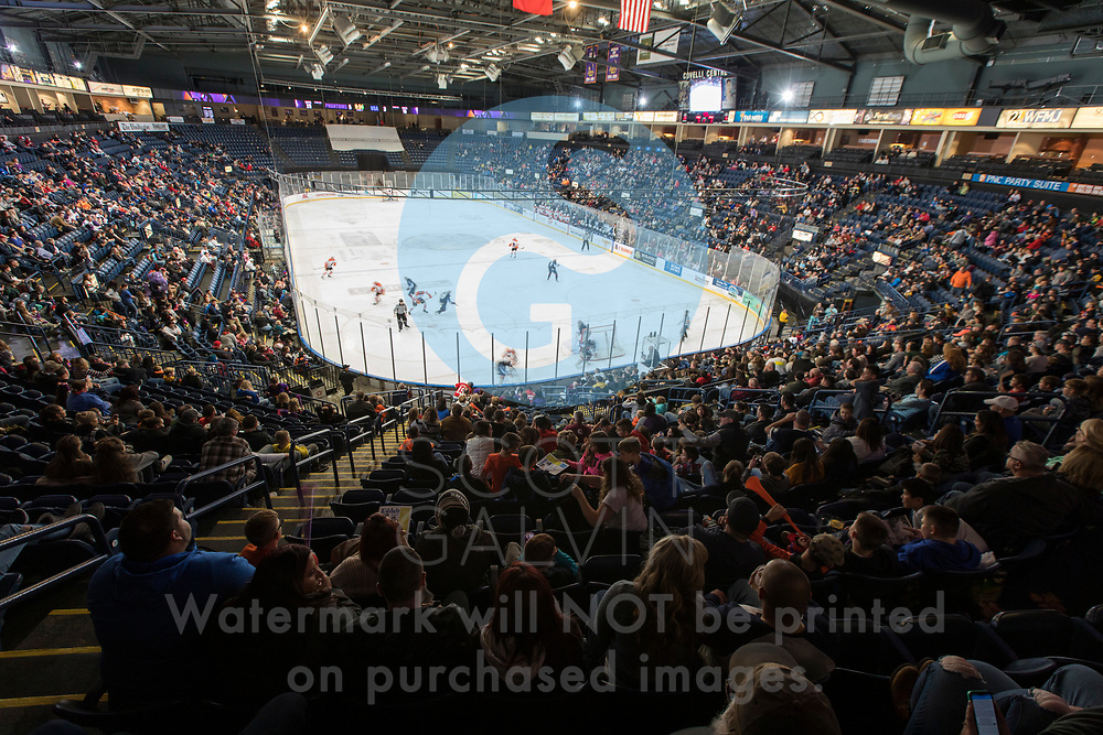 The Youngstown Phantoms defeat Team USA 6-3 at the Covelli Centre on November 16, 2019.