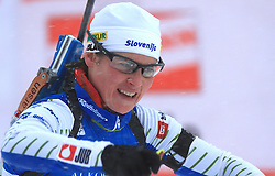 Andreja Mali (SLO) at Women 15 km Individual at E.ON Ruhrgas IBU World Cup Biathlon in Hochfilzen (replacement Pokljuka), on December 18, 2008, in Hochfilzen, Austria. (Photo by Vid Ponikvar / Sportida)