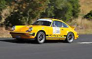 Geoff Taylor & Lee Harper.1974 Porsche 911 Carrera.Day 2.Targa Wrest Point 2009.Southern Tasmania.1st of February 2009.(C) Joel Strickland Photographics.