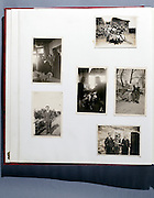 page from family photo album 1940s 1950s Holland