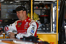 November 11, 2017 - Avondale, Arizona, United States of America - November 11, 2017 - Avondale, Arizona, USA: Matt Kenseth (20) hangs out in the garage during practice for the Can-Am 500(k) at Phoenix Raceway in Avondale, Arizona. (Credit Image: © Justin R. Noe Asp Inc/ASP via ZUMA Wire)