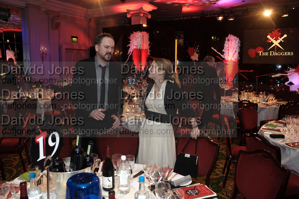 SOPHIE MITCHELL; ANTHONY KEATES, Specsavers Crime Thriller Awards.  Award ceremony celebrating the best in crime fiction and television. <br /> Grosvenor House Hotel, Park Lane, London. 21 October 2009