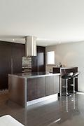 Architecture, nice apartment furnished, modern kitchen