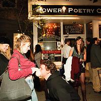 Schtick or Treat - November 1, 2011 - Bowery Poetry Club - Annie Lederman, Ed Larson