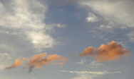 Middletown, New York -  Beautiful clouds at sunset on Sept. 28, 2010.