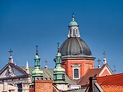 Kopuły kociościoła Piotra i Pawła w Krakowie