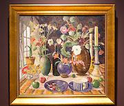 'Still Life' 1925 oil painting on canvas by Nikolai Astrup 1880-1928, Kode 4 art gallery Bergen, Norway