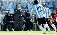 Diego Maradona (Argentina) <br /> Argentina Corea del Sud 4-1 - Argentina vs South Korea 4-1<br /> Campionati del Mondo di Calcio Sudafrica 2010 - World Cup South Africa 2010<br /> Soccer Stadium, Johannesburg, 17 / 06 / 2010<br /> © Giorgio Perottino / Insidefoto