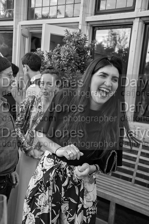 LEILA MALEKI, Dinner to celebrate the 10th Anniversary of Contemporary Istanbul Hosted at the Residence of Freda & Izak Uziyel, London. 23 June 2015