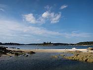 Clamming, Penobscot Bay, Maine.