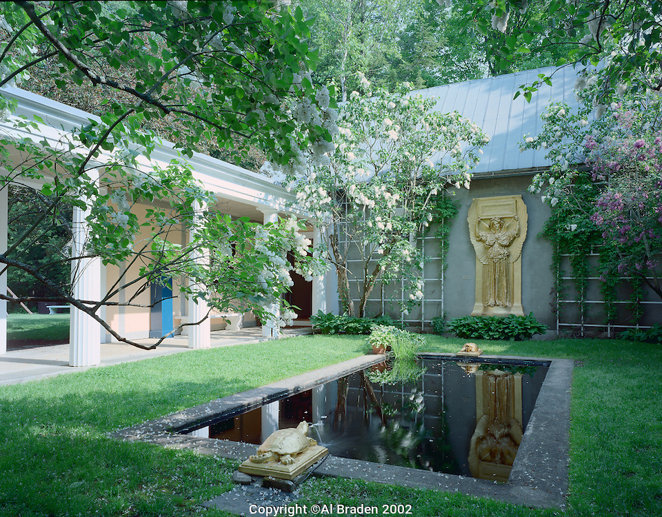 Agustus Saint-Gaudens House was the center of a thriving art colony in Cornish, NH