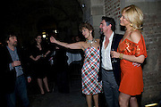 TREVOR NUN; MAUREEN LIPMAN; ALEXANDER HANSON;  Hannah Waddingham, A little Night Music press night. Garrick Theatre and afterwards at CafŽ in The Crypt, St Martin-in-the-Field. London. 7 April 2009<br /> TREVOR NUN; MAUREEN LIPMAN; ALEXANDER HANSON;  Hannah Waddingham, A little Night Music press night. Garrick Theatre and afterwards at Café in The Crypt, St Martin-in-the-Field. London. 7 April 2009