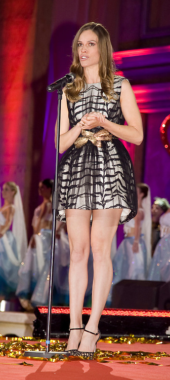 Hilary Swank on stage during the Life Ball 2013 held in Vienna, Austria. 25/05/2013 Manuela Larissegger/CatchlightMedia