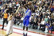 DESCRIZIONE : Roma Campionato Lega A 2013-14 Acea Virtus Roma Banco di Sardegna Sassari<br /> GIOCATORE :  Thomas Omar Abdul<br /> CATEGORIA : three points<br /> SQUADRA : Banco di Sardegna Sassari<br /> EVENTO : Campionato Lega A 2013-2014<br /> GARA : Acea Virtus Roma Banco di Sardegna Sassari<br /> DATA : 26/12/2013<br /> SPORT : Pallacanestro<br /> AUTORE : Agenzia Ciamillo-Castoria/M.Simoni<br /> Galleria : Lega Basket A 2013-2014<br /> Fotonotizia : Roma Campionato Lega A 2013-14 Acea Virtus Roma Banco di Sardegna Sassari <br /> Predefinita :