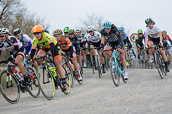 Suzanna Zorzi (Drops Cycling) at Strade Bianche - Elite Women. A 127 km road race on March 4th 2017, starting and finishing in Siena, Italy. (Photo by Sean Robinson/Velofocus)