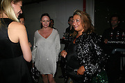 GWYNETH PALTROW, STELLA MCCARTNEY AND ZAHA HADID, Dinner given by Established and Sons to celebrate Elevating Design.  P3 Space. University of Westminster, 35 Marylebone Rd. London NW1. -DO NOT ARCHIVE-© Copyright Photograph by Dafydd Jones. 248 Clapham Rd. London SW9 0PZ. Tel 0207 820 0771. www.dafjones.com.