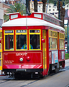 Streetcars in New Orleans have been an integral part of the city's public transportation network since the first half of the 19th century. The longest of New Orleans' streetcar lines, the St. Charles Avenue line, is the oldest continuously operating street railway system in the world. Today, the streetcars are operated by the New Orleans Regional Transit Authority (RTA).<br /> <br /> There are currently four operating streetcar lines in New Orleans: The St. Charles Avenue Line, the Riverfront Line, the Canal Street Line, and the Loyola Avenue Line. The St. Charles Avenue Line is the only line that has operated continuously throughout New Orleans' streetcar history (though service was interrupted after Hurricane Katrina in August 2005 and resumed only in part in December 2006, as noted below). All other lines were replaced by bus service in the period from the late 1940s to the early 1960s; preservationists were unable to save the streetcars on Canal Street, but were able to convince the city government to protect the St. Charles Avenue Line by granting it historic landmark status. In the later 20th century, trends began to favor rail transit again. A short Riverfront Line started service in 1988, and service returned to Canal Street in 2004, 40 years after it had been shut down.