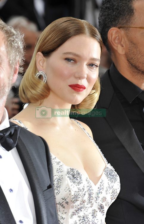 Lea Seydouxattending The Gangster, The Cop, The Devil premiere, during the 72nd Cannes Film Festival attending the Oh Mercy! premiere, during the 72nd Cannes Film Festival.