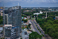 (New) Ecobank Ghana Headquarters & Independence Avenue