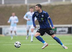 Martin Vingaard (HB Køge) under træningskampen mellem FC Helsingør og HB Køge den 22. februar 2020 på Helsingør Ny Stadion (Foto: Claus Birch).