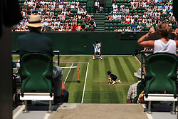 6 July 2017 -  Wimbledon Tennis (Day 4) - Grigor Dimitrov (BUL) can be in action during his 2nd round match between the seats of spectators - Photo: Marc Atkins / Offside.