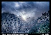 West of Logan Pass<br /> Glacier National Park - Go The Sun Road<br /> September 2013