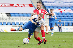 Peterborough United's Marcus Maddison is fouled by Barnsley's James Bailey for a free-kick that Maddison scores direct from - Photo mandatory by-line: Joe Dent/JMP - Mobile: 07966 386802 - 18/10/2014 - SPORT - Football - Peterborough - London Road Stadium - Peterborough United v Barnsley - Sky Bet League One